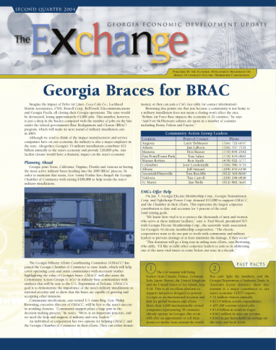 Georgia EMC served economic development agencies and chambers of commerce across the state. I produced a newsletter to keep communities up to date on current issues facing communities.