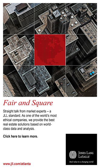 One of 15 digital ads I wrote to promote JLL's research reports.
